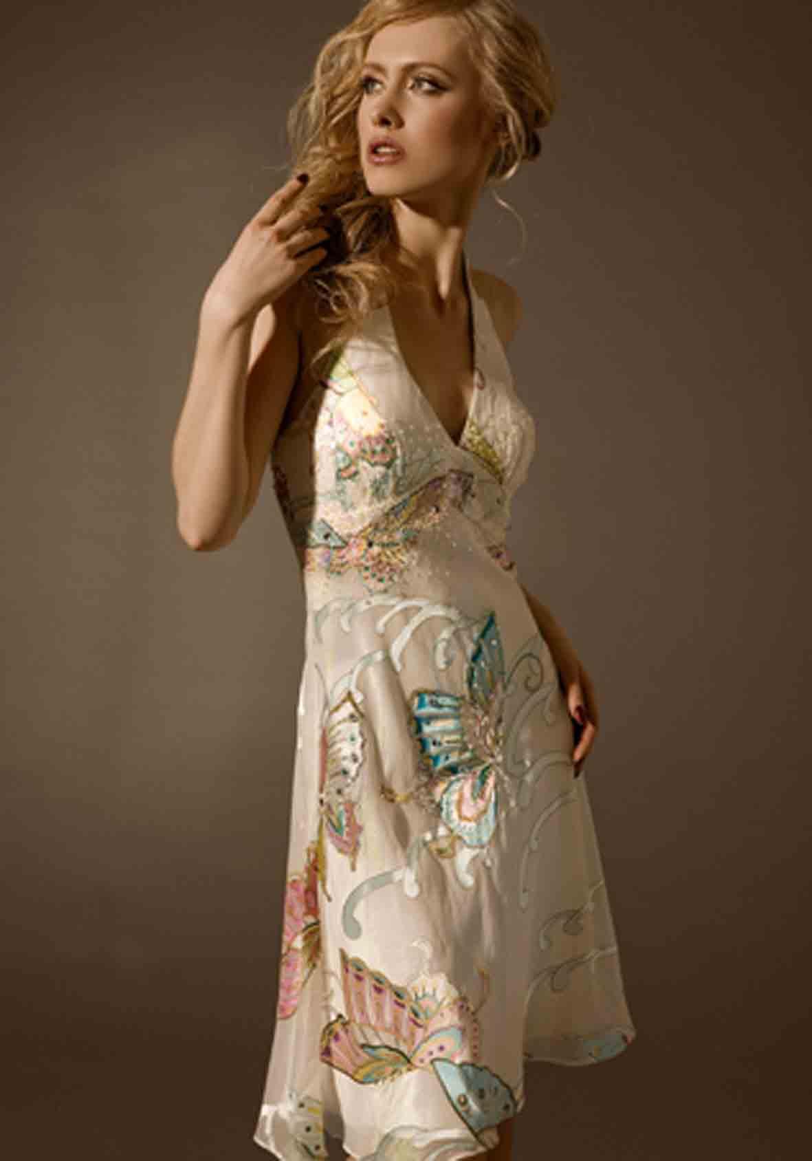 Длинное платье с выкройками